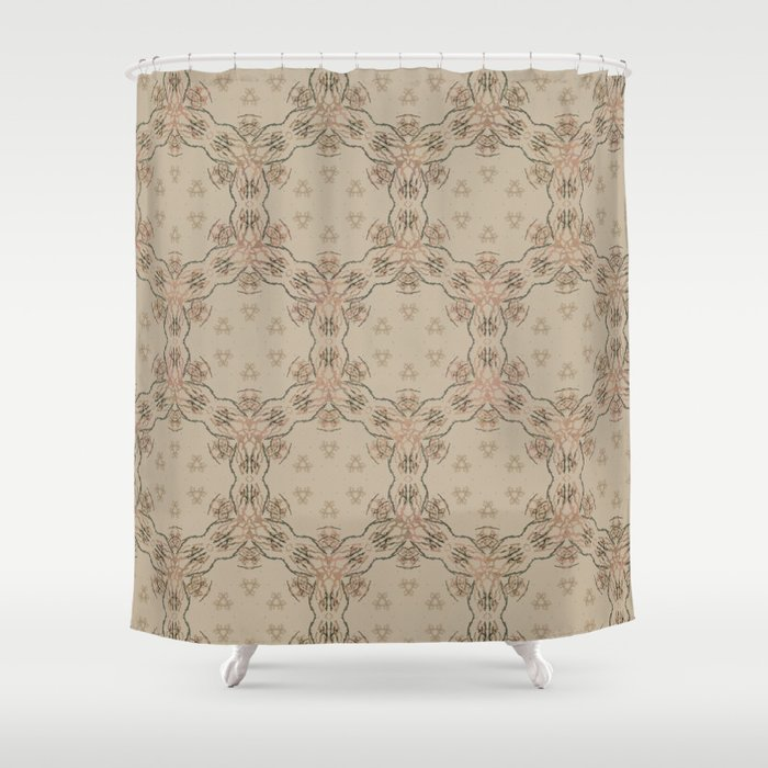 Woodstock Vibes Shower Curtain