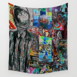 Market Art Wall Tapestry