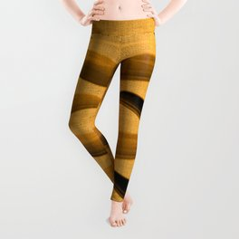 """Abstract Oriental Tiger"" Leggings"