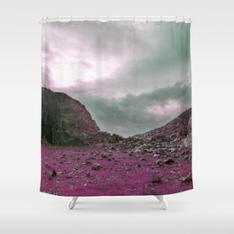 Pink Norway - Norwegian Lapponian Gate Shower Curtain