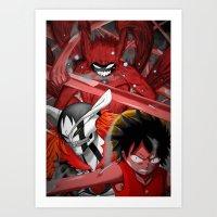 Shonen jump's best! Art Print