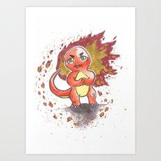 Rage 2 Art Print