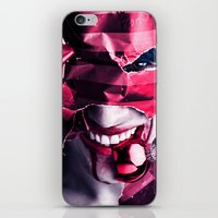 gift card iPhone & iPod Skins featuring Gift by Imustbedead