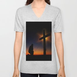 Christian Faith Unisex V-Neck