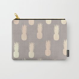 Pretty gold pineapple pattern Carry-All Pouch