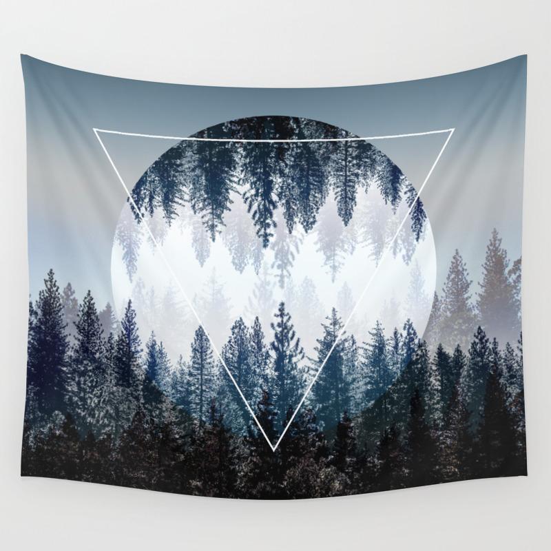 Abstract Wall Tapestries Society6