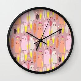 Trill Trio Wall Clock