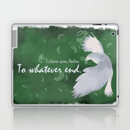 To Whatever End (Green) Laptop & iPad Skin