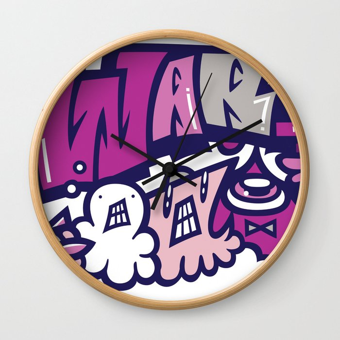 反戦争 - NO WAR  Wall Clock