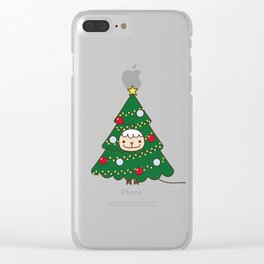 because dressing up as a santa is too mainstream Clear iPhone Case