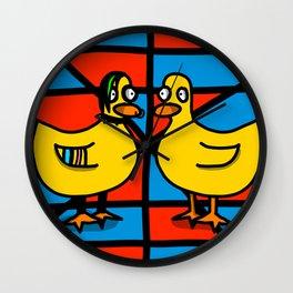 Counterculture | Veronica Nagorny Wall Clock