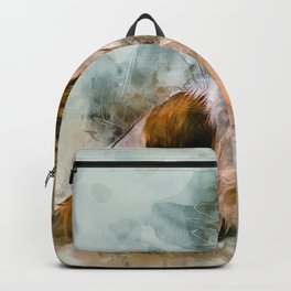 Chihuahua Art Backpack