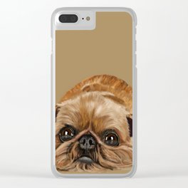 Brussels Griffon Clear iPhone Case