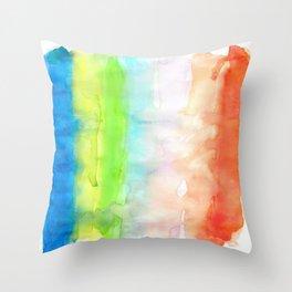 Chromatography 3 Throw Pillow