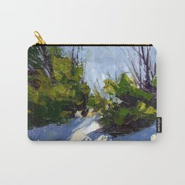 Shadows in the Snow Carry-All Pouch