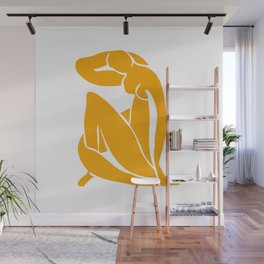 Matisse in Gold Wall Mural