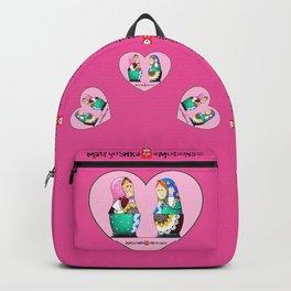 Pink Valentine Backpack