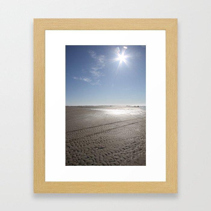 February sun Framed Art Print