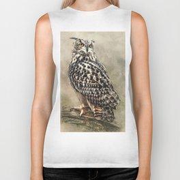 Eagle Owl Biker Tank