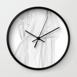 Koch Curve abstraction 02 Wall Clock