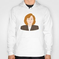 dana scully Hoodies featuring Dana Scully by Anna Valle