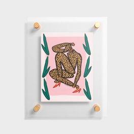 Matisse Cheetah Floating Acrylic Print