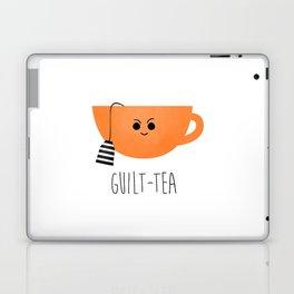 Guilt-tea Laptop & iPad Skin