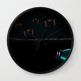 TRON RECOGNIZERS Wall Clock