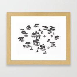 Fly agaric 3 Framed Art Print