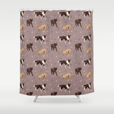 Rescue Dogs Pattern Shower Curtain