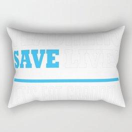 ENGLISH TEACHER save lives Rectangular Pillow