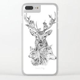 Kin Clear iPhone Case
