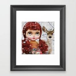 ERREGIRO CUSTOM BLYTHE DOLL Framed Art Print