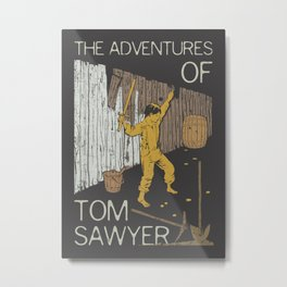 Books Collection: Tom Sawyer Metal Print