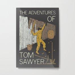 Books Collection: Tom Sawyer Metal Print
