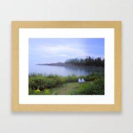 A Peaceful Evening Framed Art Print