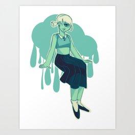 Feelin Green Art Print