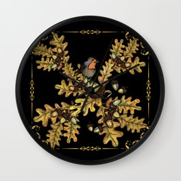 History of the autumn forest_6 Wall Clock