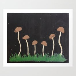mushies Art Print
