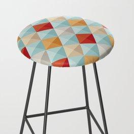 Abstract Pattern Bar Stool