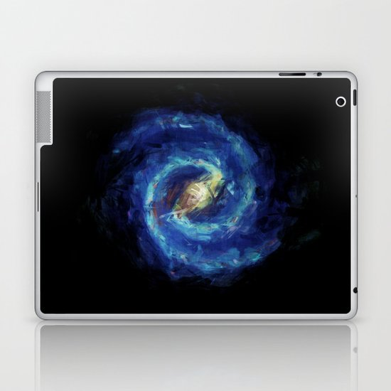 The Milky Way Galaxy - Painting Style Laptop & iPad Skin