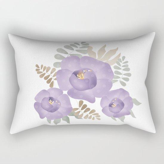Light lilac roses. Rectangular Pillow