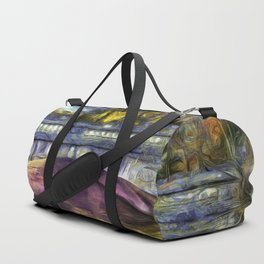 The Headless Horseman Bridge Van Gogh Duffle Bag