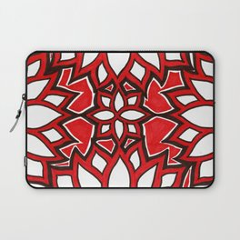 red lotus Laptop Sleeve