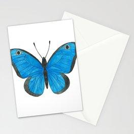 Morpho Butterfly Illustration Stationery Cards