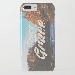 Grace Upon Grace iPhone Case