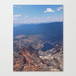 Sierra Buttes Canvas Print