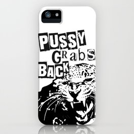 Pussy Grabs Back - Iconic Design iPhone Case