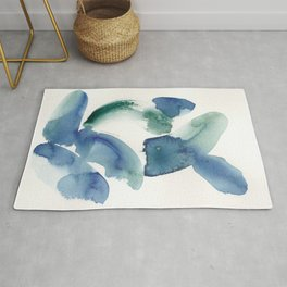 15   | 190816 | Surrender | Abstract Watercolour Painting Rug