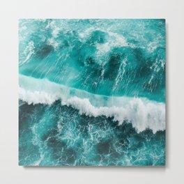 BEAUTIFUL WAVES Metal Print